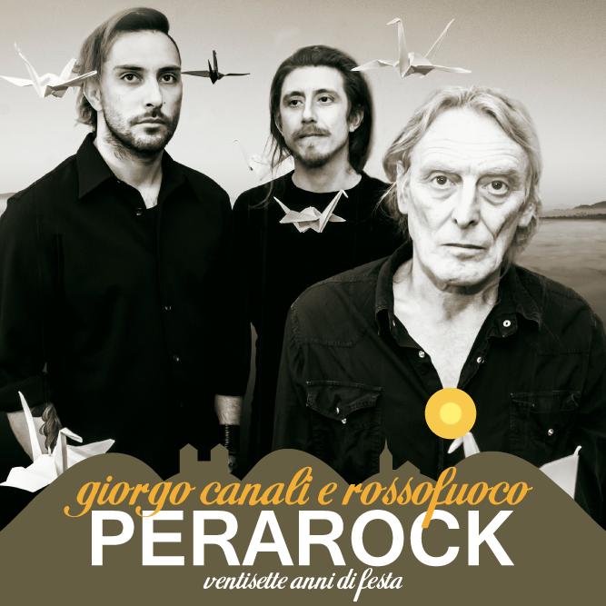 Giorgio Canali e Rosso Fuoco - Perarock Festival 2018